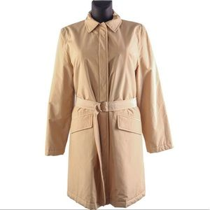 ESCADA // cotton belted trench